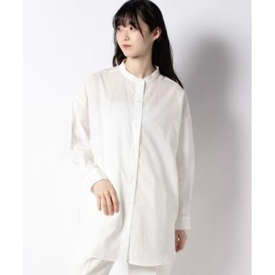 (Te chichi/テチチ)【Lugnoncure】スタンドカラーシャツ/レディース オフ