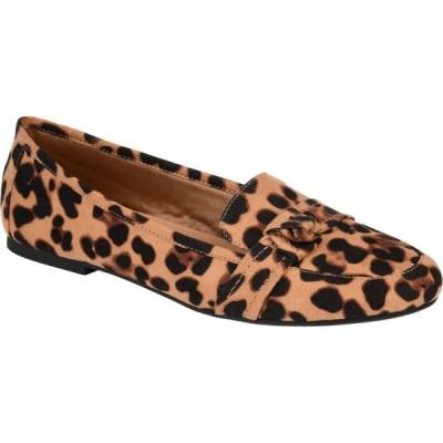 ジュルネ コレクション Journee Collection レディース スリッポン・フラット シューズ・靴 Marci Flat Leopard