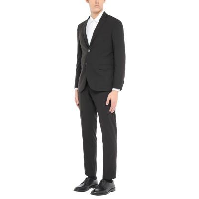 ALESSANDRO GILLES スーツ ブラック 50 ウール 70% / レーヨン 24% / ポリウレタン 6% スーツ