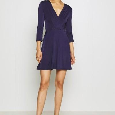 アンナフィールド レディース ジャージドレス Jersey dress - dark blue