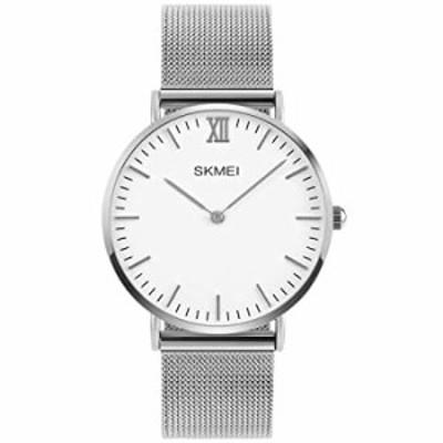 腕時計  PASOY ユニセックス プレッピー スタイル ナイロン ストラップ 超薄型 ケース 6mm メンズ レディース クォーツ アナログ ウォッ