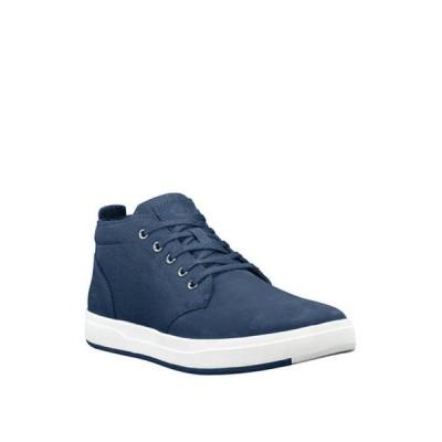 ティンバーランド メンズ スニーカー シューズ Davis Square Mixed Media Chukkas Eco-Friendly Shoes