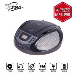 TCSTAR CD/FM/USB/AUX/MP3手提立體聲音響 (TCS1540BK)