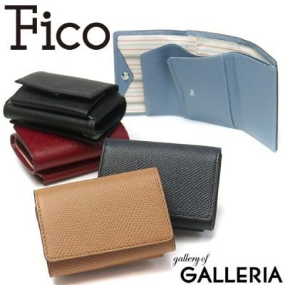正規品1年保証 フィーコ 三つ折り財布 Fico イニッジォ Inizio 財布 三つ折り BOX型小銭入れ ミニ財布 メンズ レディース 本革 WFIC58900