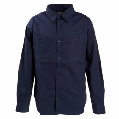 Slyde Vintage(Slyde Vintage)リップストップシャツ 長袖 SV-20SSAP009-NVY オンライ…