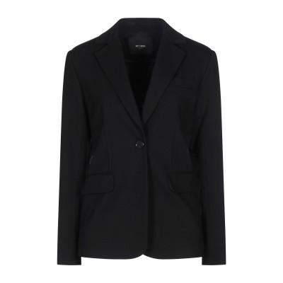 MY TWIN TWINSET テーラードジャケット ブラック XS レーヨン 68% / ナイロン 28% / ポリウレタン 4% テーラードジャ