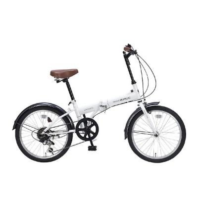 My Pallas マイパラス M-200-W 20インチ 6段変速 折畳自転車 ホワイト
