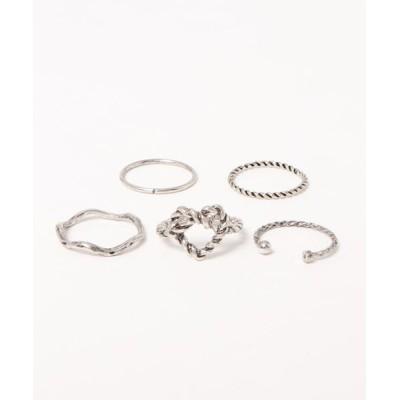 指輪 【チャイハネ】エキゾチックメタルリングセット