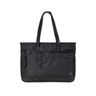 【カバンのセレクション】 吉田カバン ポーター インタラクティブ トートバッグ メンズ 大きめ 大容量 A4 B4 PORTER 536-16155 メンズ ブラック フリー Bag&Luggage SELECTION