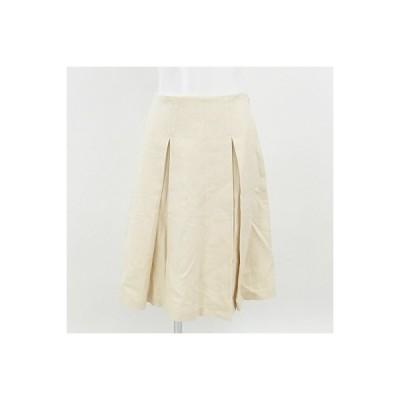 ヒューマンウーマン(HUMANWOMAN)オフ白スカート