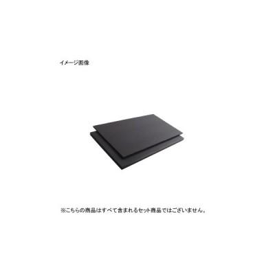 K まな板 黒 両面シボ付 PC K11B 1200×600×10