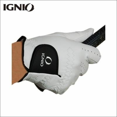 イグニオ メンズ ゴルフグローブ 天然羊革 IG-1G1036GG 右手