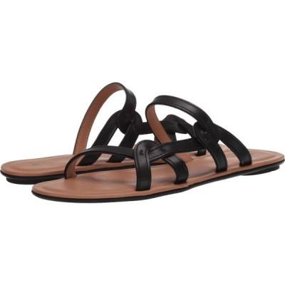 アクアタリア Aquatalia レディース サンダル・ミュール シューズ・靴 April Black Calf