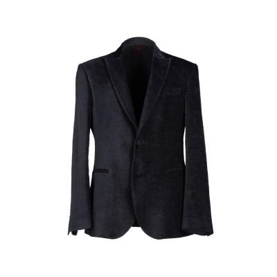 LUCHINO テーラードジャケット スチールグレー 52 麻 45% / レーヨン 45% / コットン 10% テーラードジャケット