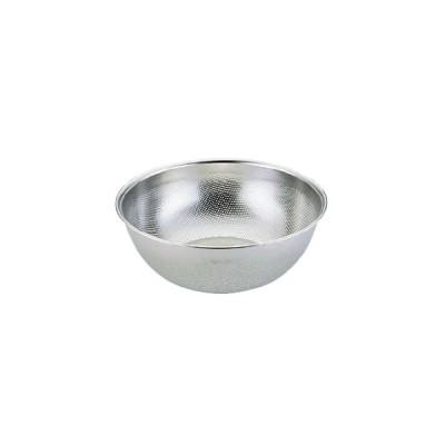 料理道具 ボール ステンレス 洗剤不要! エコクリーン UK18-8深型パンチボール 15cm (8-0252-0401)