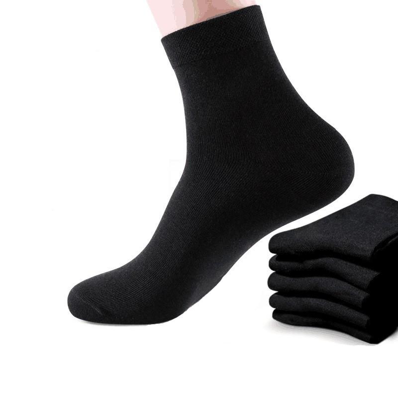 大唐襪業 D200男士中筒襪全棉襪吸汗四季長筒透氣運動休閒棉襪