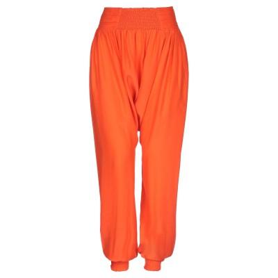 OTT パンツ オレンジ S シルク 100% パンツ