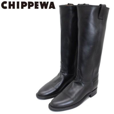 CHIPPEWA (チペワ) 1901W64 Women's 15inch Roper(15インチローパー プレーントゥ・ロングエンジニアブーツ) レディース Black