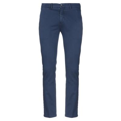 YAN SIMMON パンツ ブルー 46 コットン 98% / ポリウレタン 2% パンツ