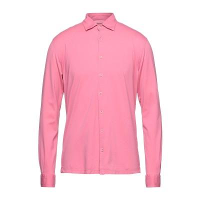 グラン サッソ GRAN SASSO シャツ ピンク 50 コットン 100% シャツ