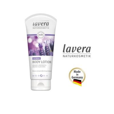lavera オーガニック ボディローション ラベンダー&アロエ