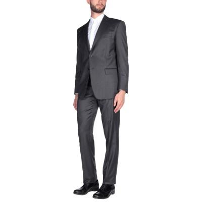 アスペジ ASPESI スーツ スチールグレー 48 ウール 100% スーツ