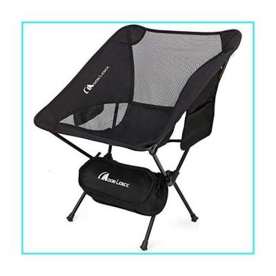 MOON LENCE アウトドア 超軽量 ポータブル 折りたたみ椅子 キャリーバッグ付き 高耐久 240ポンド 容量 キャ