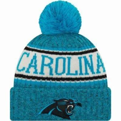 ニューエラ ニット Carolina Panthers Sideline Cold Weather Blue Sport Knit