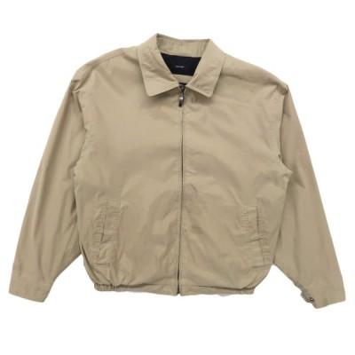 ブルゾン ジャケット スウィングトップ ベージュ サイズ表記:M