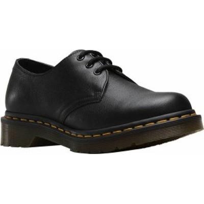 ドクターマーチン レディース オックスフォード シューズ Women's Dr. Martens 1461 3-Eye Shoe Black Virginia Standard