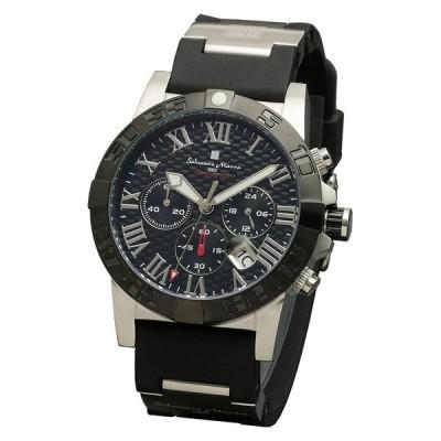 Salvatore Marra サルバトーレ マーラ SM18118-SSBKK ブラック 腕時計 正規品