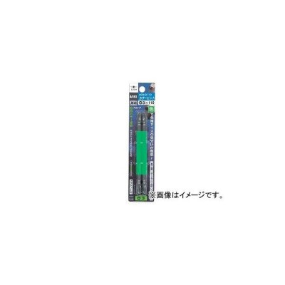 アネックス/ANEX カラービット ACM-3110 緑 (+)3×110 JAN:4962485392086 入数:2本