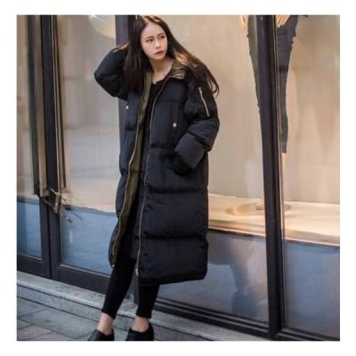 ダウンコート レディース ロング 40代 中綿 コート ダウンジャケット アウター 冬服 カジュアル ロング丈 軽い 暖かい 大きいサイズ ファッション 防寒 大人
