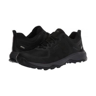 Keen キーン メンズ 男性用 シューズ 靴 スニーカー 運動靴 Explore WP - Black/Magnet