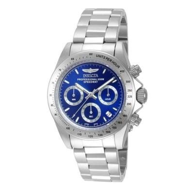 インビクタ Invicta メンズ 腕時計 ウォッチ Speedway スピードウェイ クォーツ 14382 ブルー シルバー 並行輸入品