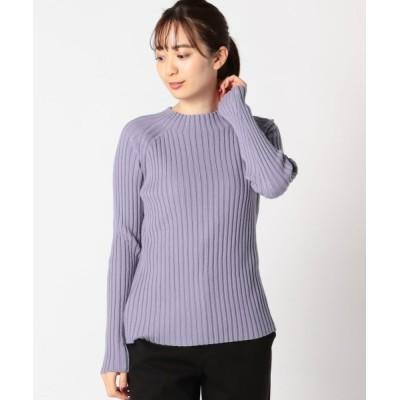 MEW'S REFINED CLOTHES / ウォッシャブルモチモチリブボトルニット WOMEN トップス > ニット/セーター