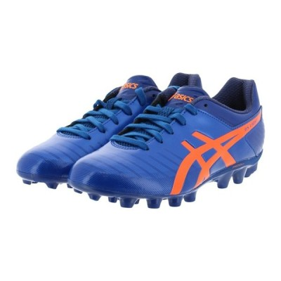 アシックス DS ライト 3 Jr 1104A002 400 ジュニア キッズ・子供 サッカー スパイクシューズ : ブルー×オレンジ asics