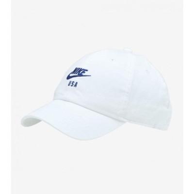 ナイキ Nike メンズ キャップ ダットハット 帽子 h86 usa dad hat WHITE/BLUE