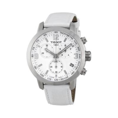 腕時計 ティソット Tissot PRC 200 クロノグラフ ステンレス スチール ユニセックス 腕時計 T0554171601700