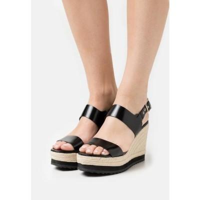 テッドベーカー レディース 靴 シューズ ARCHEI - Platform sandals - black