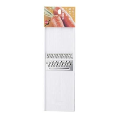 貝印 スライサー kai House SELECT 両面千切り器(千切り&ツマ切り) ホワイト DH7083 | せん切り 千切り ツマ