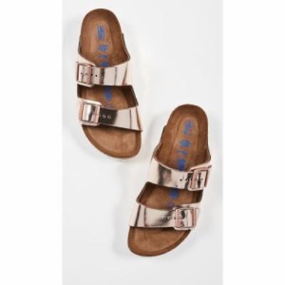 ビルケンシュトック Birkenstock レディース サンダル・ミュール シューズ・靴 Arizona SFB Sandals Metallic Copper