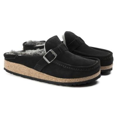 ビルケンシュトック レディース ブーツ バックリー スエード レザー シューズ シアリングブラック ナローフィット(幅狭) BIRKENSTOCK BUCKLEY SALE セール SK