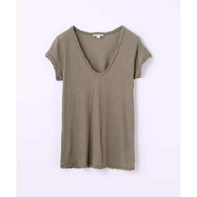 TOMORROWLAND / トゥモローランド ハイゲージ Vネック Tシャツ WEK3182