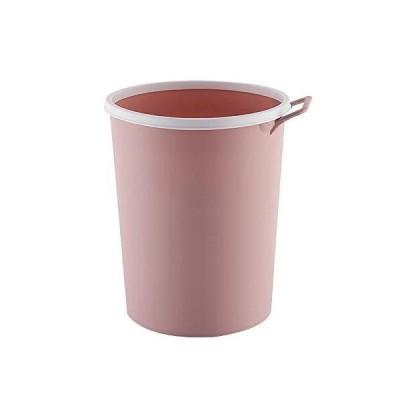 キッチンゴミ箱 フタなしゴミ箱 ゴミ袋固定リング付き 廃棄物容器リビングルーム キッチン 洗面所用 ノルディ