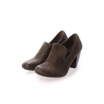 ヨーロッパコンフォートシューズ EU Comfort Shoes ブーティー (ダークブラウン)