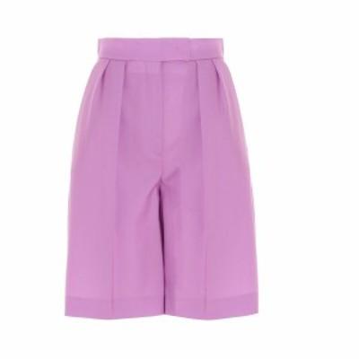 MSGM/エムエスジーエム Fuchsia Tailored Bermuda shorts レディース 春夏2021 3041MDB0421711312 ju