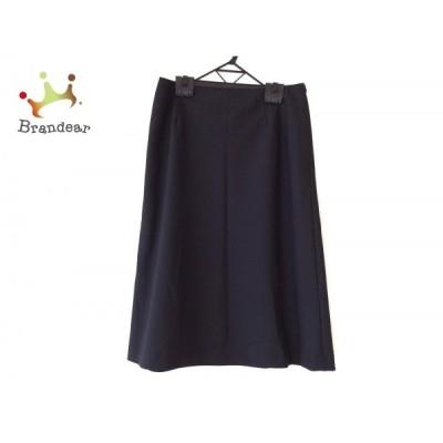 マーガレットハウエル MargaretHowell スカート サイズ3 L レディース - 黒 ひざ丈 新着 20201215