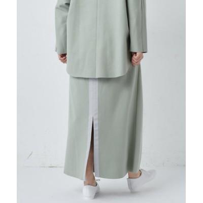 《セットアップ推奨》グログランカットオフスカート