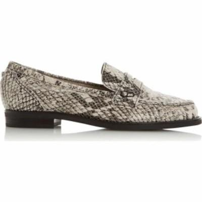 デューン Dune London レディース スリッポン・フラット シューズ・靴 Grady Unlined Slip On Loafers Natural